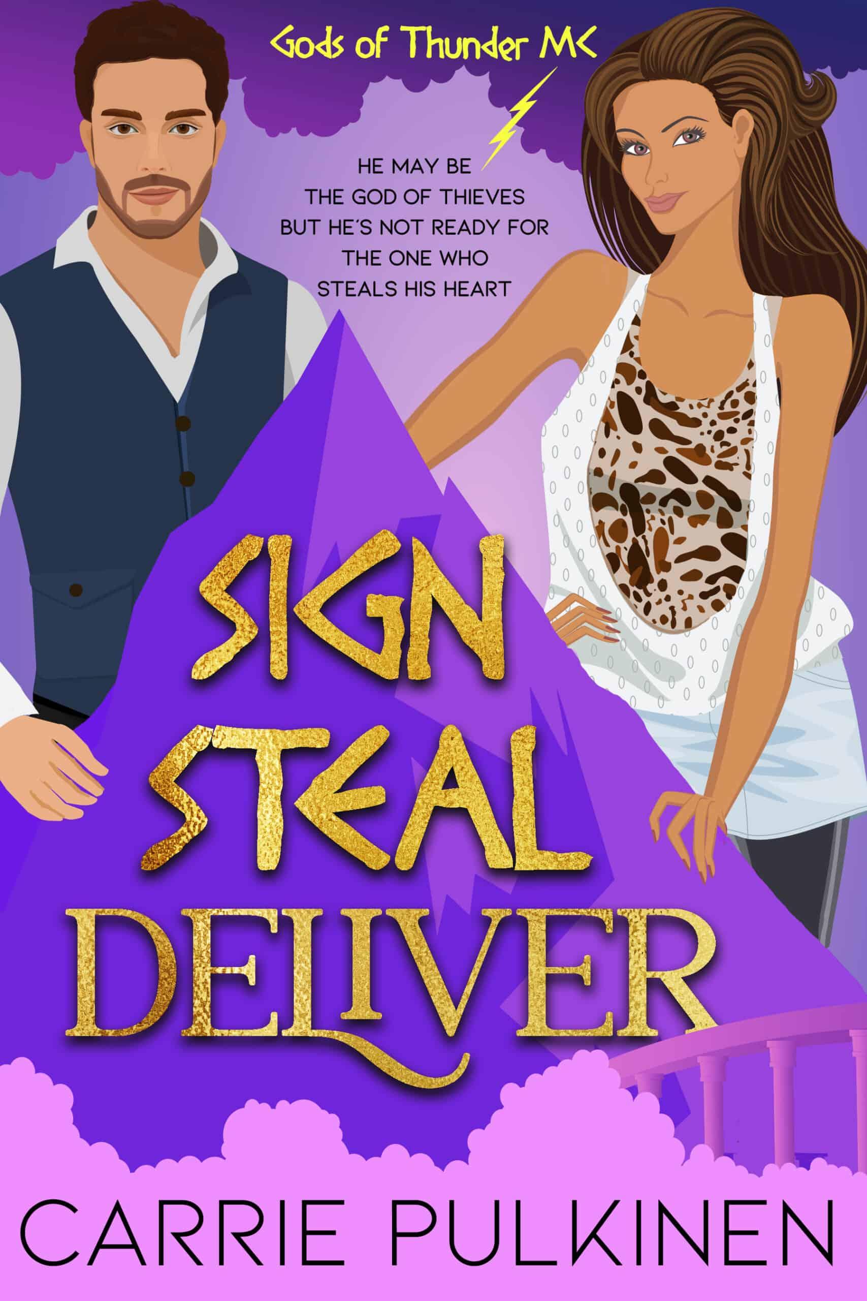 Sign Steal Deliver Cover